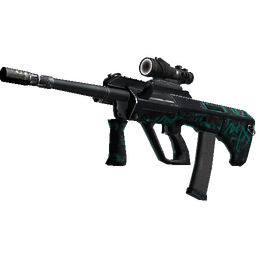 StatTrak™ AUG | Ricochet (Battle-Scarred)