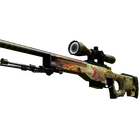 AWP | Dragon Lore (Well-Worn)