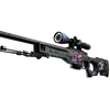 AWP | Fever Dream <br>(Battle-Scarred)