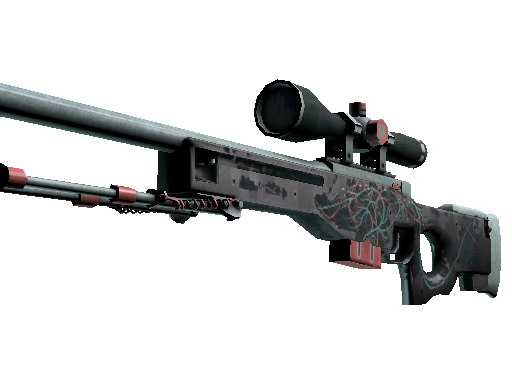 AWP | Capillary (Battle-Scarred)