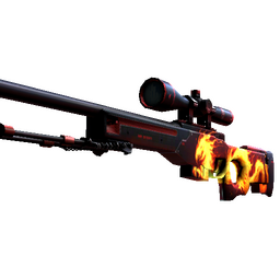 StatTrak™ AWP | Wildfire (Factory New)
