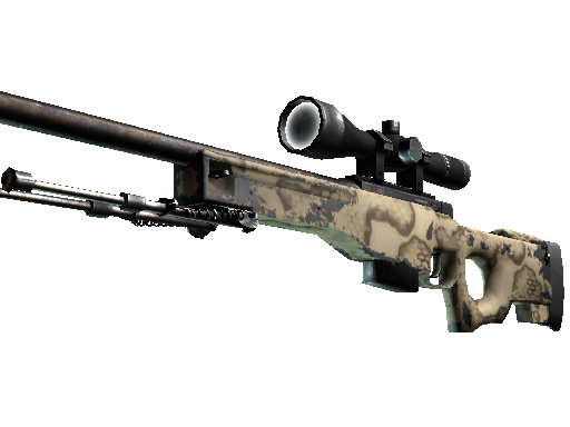 AWP | Snake Camo Field-Tested