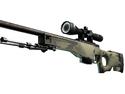 AWP | Safari Mesh Well-Worn