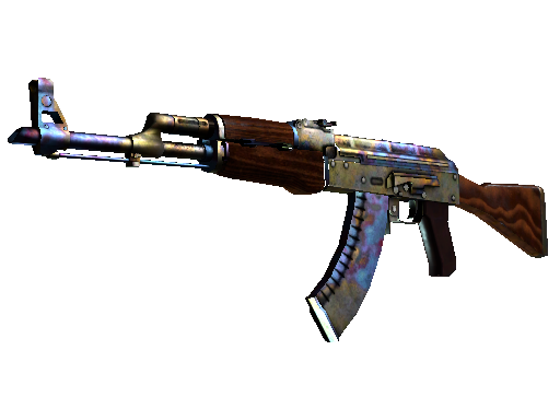Item: AK-47 | Case Hardened