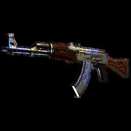 StatTrak™ AK-47 | Case Hardened (Battle-Scarred)