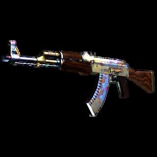 StatTrak™ AK-47 | Case Hardened (Minimal Wear)