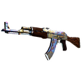 AK-47 | Case Hardened <br>(Well-Worn)