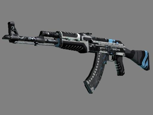 Скин AK-47 | Вулкан (Закаленное в боях)