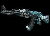 AK-47 | Снежный вихрь, Закаленное в боях, 443.32$