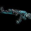 StatTrak™ AK-47 | Frontside Misty <br>(Battle-Scarred)