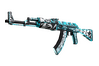 StatTrak™ AK-47 | Frontside Misty (Well-Worn)