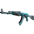 StatTrak™ AK-47 | Frontside Misty <br>(Well-Worn)