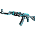 AK-47 | Frontside Misty <br>(Minimal Wear)