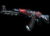 AK-47 | Буйство красок, Закаленное в боях, 671.77$