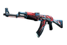 StatTrak™ AK-47 | Point Disarray (Well-Worn)