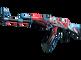 StatTrak™ AK-47   Point Disarray (Minimal Wear)
