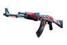StatTrak™ AK-47 | Point Disarray (Minimal Wear)