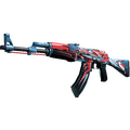StatTrak™ AK-47 | Point Disarray <br>(Factory New)