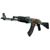StatTrak™ AK-47 | Aquamarine Revenge <br>(Battle-Scarred)