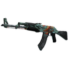 StatTrak™ AK-47   Aquamarine Revenge (Battle-Scarred)