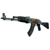 StatTrak™ AK-47 | Aquamarine Revenge (Battle-Scarred)