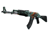AK-47 | Аквамариновая месть, Закаленное в боях, 650.37$