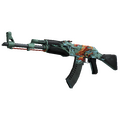StatTrak™ AK-47 | Aquamarine Revenge <br>(Well-Worn)