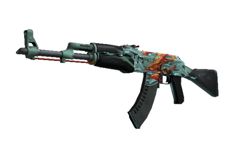 AK-47 | Aquamarine Revenge (Well-Worn) Prices