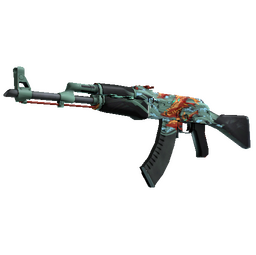 StatTrak™ AK-47 | Aquamarine Revenge (Minimal Wear)