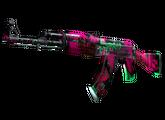 AK-47 | Неоновая революция, Закаленное в боях, 1464.57$