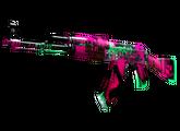 AK-47 | Неоновая революция, Немного поношенное, 2238.54$