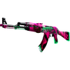 StatTrak™ AK-47 | Neon Revolution <br>(Factory New)