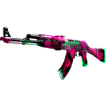 StatTrak™ AK-47 | Neon Revolution <br>(Factory New)