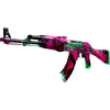 StatTrak™ AK-47 | Neon Revolution <br>(Field-Tested)