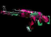 AK-47 | Неоновая революция, Поношенное, 1640.35$