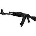 StatTrak™ AK-47 | Elite Build <br>(Well-Worn)