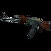 StatTrak™ AK-47 | Fire Serpent <br>(Battle-Scarred)