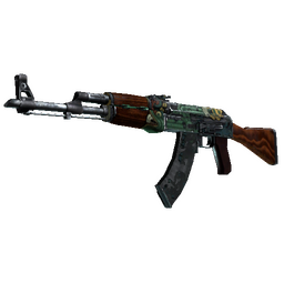 StatTrak™ AK-47 | Fire Serpent (Battle-Scarred)