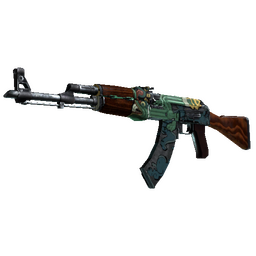 StatTrak™ AK-47 | Fire Serpent (Minimal Wear)