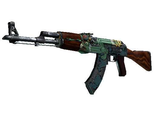 Saturn AK-47 Fire Serpent
