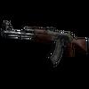 StatTrak™ AK-47 | Jaguar <br>(Battle-Scarred)