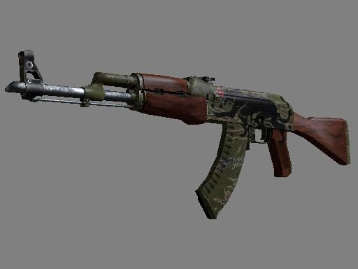 Gold AK-47 Jaguar