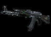 AK-47   Изумрудные завитки, Закаленное в боях, 87.7$