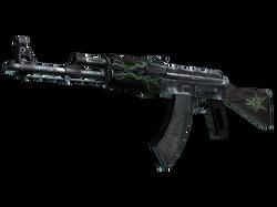 AK-47 | Изумрудные завитки (Закаленное в боях)