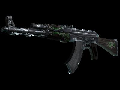 AK-47   Изумрудные завитки (Закаленное в боях)