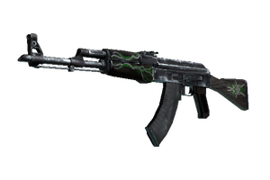 Ak 47 Emerald Pinstripe Field Tested
