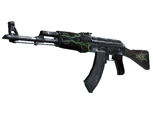 AK-47  |  Emerald Pinstripe  Field-Tested