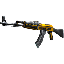StatTrak™ AK-47 | Fuel Injector (Well-Worn)