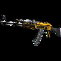 StatTrak™ AK-47 | Fuel Injector (Well-Worn)
