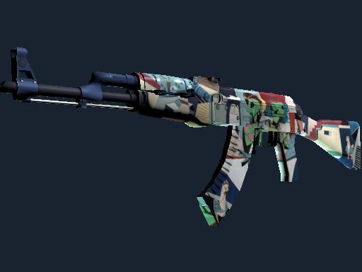 StatTrak™ AK-47   Leet Museo (Battle-Scarred)